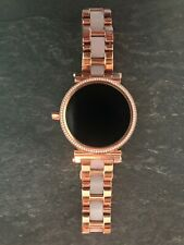 Michael Kors Runway Access Rose Gold Pave Touchscreen