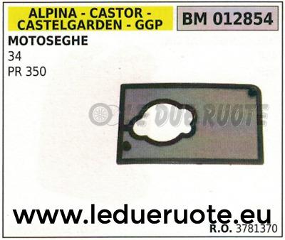 83781379 FILTRO ARIA MOTOSEGA ALPINA CASTOR CASTELGARDEN STIGA 34 PR 350