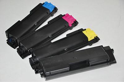 Ninjatoner Compatible Toner Cartridge Replacement for Kyocera TK-592 TK592 FS-C2026MFP FS-C2126MFP FS-C2526MFP FS-C2626MFP FS-C5250DN M6026cdn M6026cidn M6526cdn P6026cdn BCMY, 5 Pack