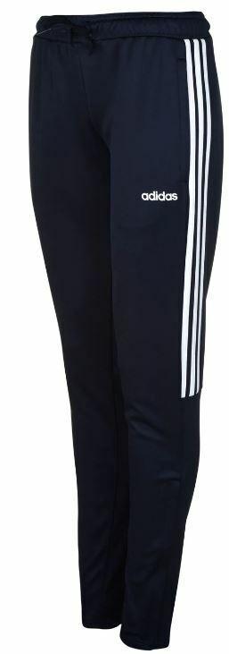 ADIDAS Womens Navy Football Sereno Pants Slim UK Size 16-18 *REF75