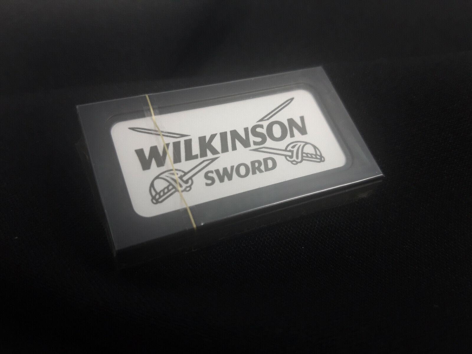 Rasierklingen von Wilkinson Sword beidseitig geschärft für Rasierhobel Klinge