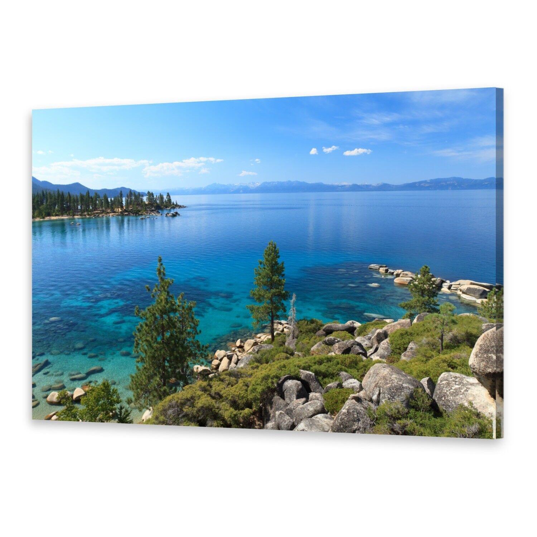 - Tela Immagini Immagine Parete stampa su canvas stampa d'arte lago Tahoe