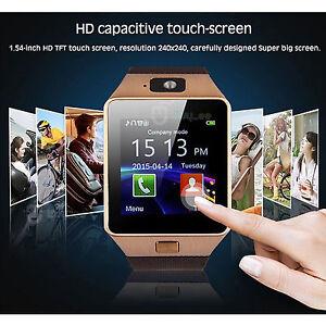e8bb925761fb 2018 DZ09 Bluetooth Smart Watch Phone + Camera SIM For Android IOS ...