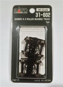 Kato-HO-31602-Barber-S-2-Roller-Bearing-Truck-1-Pair-New