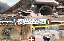 BR42685 Tunnel du Mt blanc le plus long du monde france