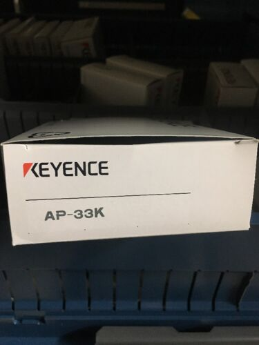 KEYENCE AP-33KP DIGITAL AIR PRESSURE SENSOR **NEW**