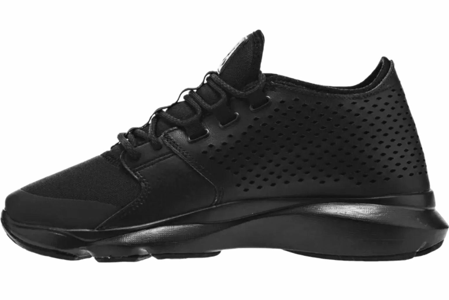 NIKE JORDAN FLOW ZOOM TRAINER BASKETBALL MEN SHOES BLACK 833969-010 SIZE 10 NEW Wild casual shoes