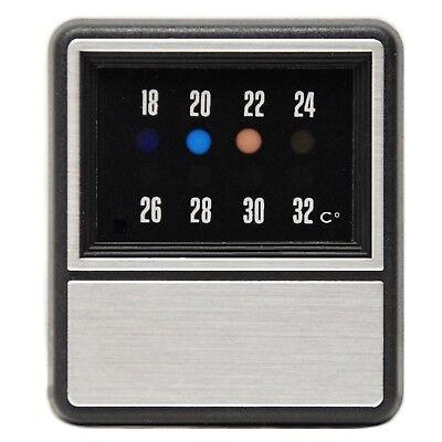 1982 Storico Digital Termometro Del Giudice/hr A Colori Visualizzazione Digitale-mostra Il Titolo Originale Vendita Calda Di Prodotti