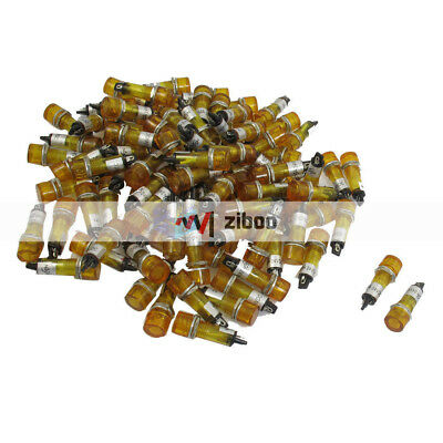 25 330-o# led 2mm flashing orange dispo 10 or 100pcs