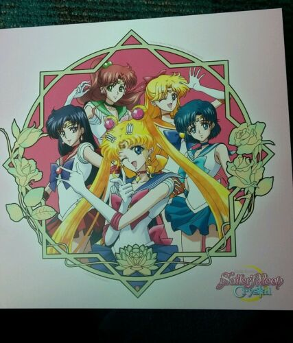 Sailor Moon Mini Poster San Diego Comic Con 2015 Viz Media Hulu