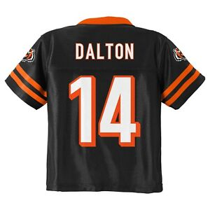 Andy Dalton  14 Cincinnati Bengals NFL Toddler 4T Team Player Baby ... 64117478d