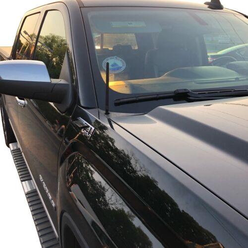 "7/"" ANTENNA MAST Black for Chevrolet  Silverado Pickup 2006-2016 NEW"
