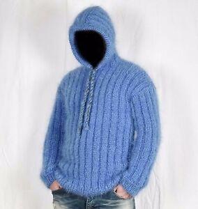 Chandail Pullover Tricoté Hoodies Hommes Longhair Main Mohair wAHHOqxCX