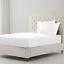 Hoja-equipada-400TC-100-algodon-egipcio-de-lujo-bed-sheet-single-Doble-King-Size miniatura 13