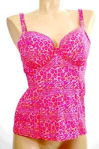 Curvy Kate Haut Tankini 1 Piece Taille 90f Couleur Rose 'daze Balcony Tankini'