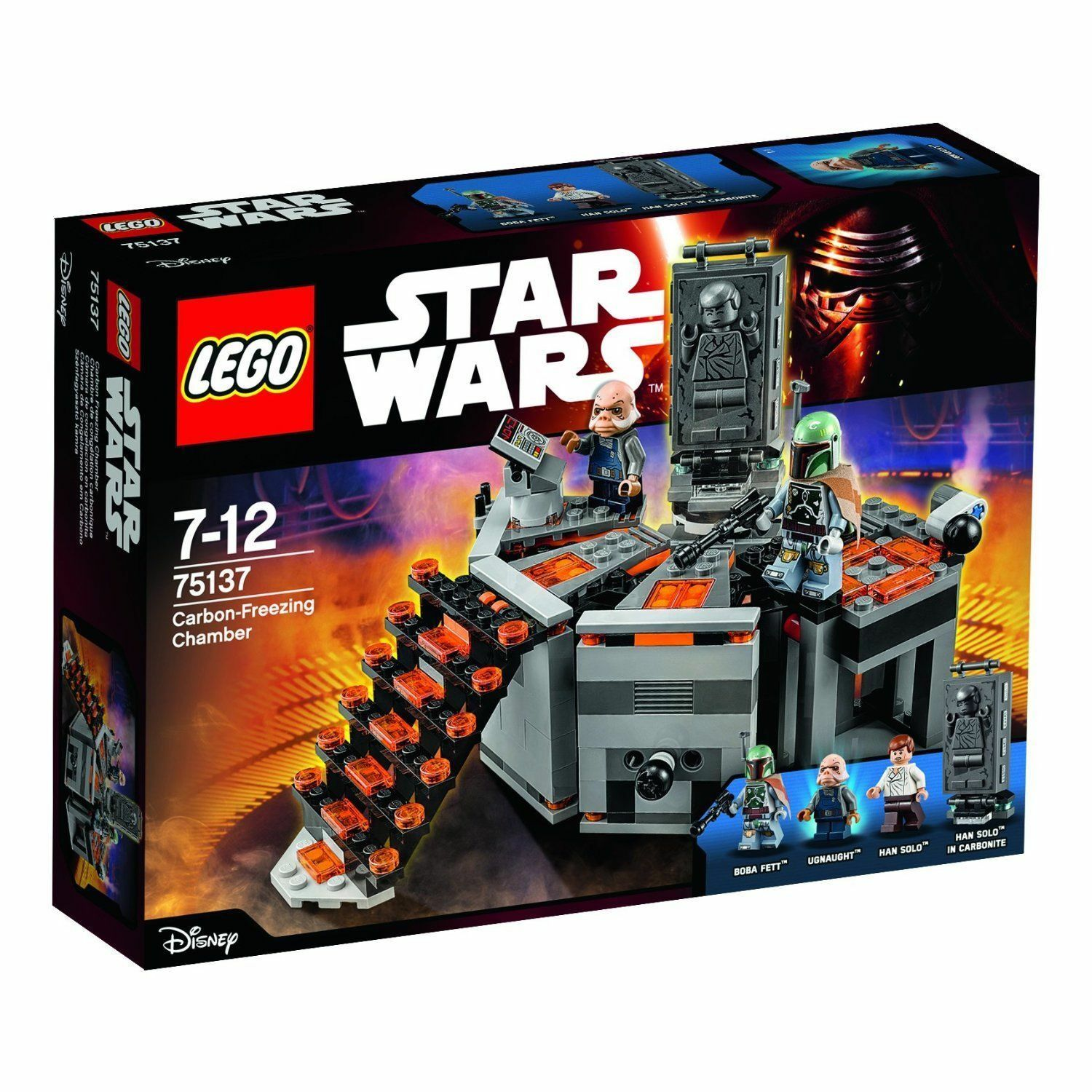 LEGO Star Wars TM 75137 Carbon-Freezing Chamber - Brand New, Retired, Boba Fett