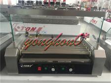 14kw 220v Commercial 7 Roller Hot Dog Grill Cooker Machine