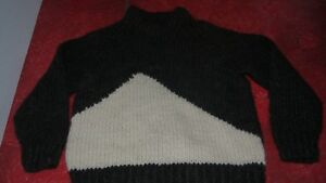Wool Sweater Handmade 100 Australian Authentic Size Children's t8wqfwdA