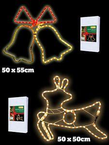 Christmas xmas rope light silhouette indoor outdoor garden festive image is loading christmas xmas rope light silhouette indoor outdoor garden aloadofball Image collections