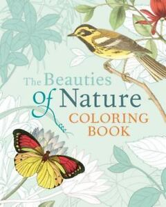 The Beauties Of Nature Coloring Book By Pierre Joseph Redoute And