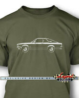 Opel Manta A Coupe 1970 - 1975 Men T-shirt - Multiple Colors And Sizes