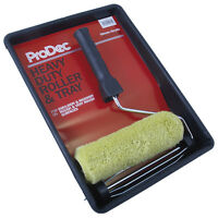 "ProDec 9"" x 1.75"" Heavy Duty Roller & Tray Kit Emulsion Masonry Paint PRRT011"