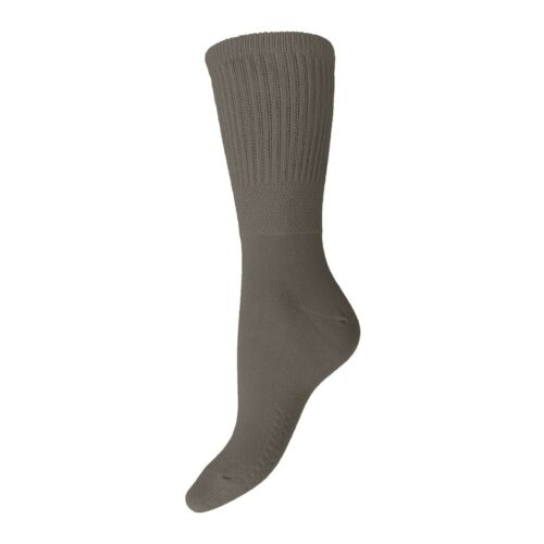 Ladies Soft Cotton Rich EXTRA WIDE Medical Non Binding Diabetic Socks 4-8 Uk