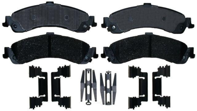 ACDelco 17D834CH Professional Ceramic Rear Disc Brake Pad Set