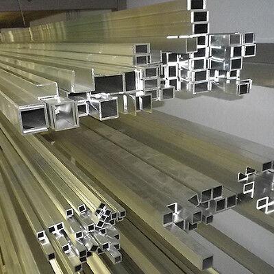 Alu Aluminiumprofil U-, Kasten-, Quadratprofile Quadratrohr Rechteck
