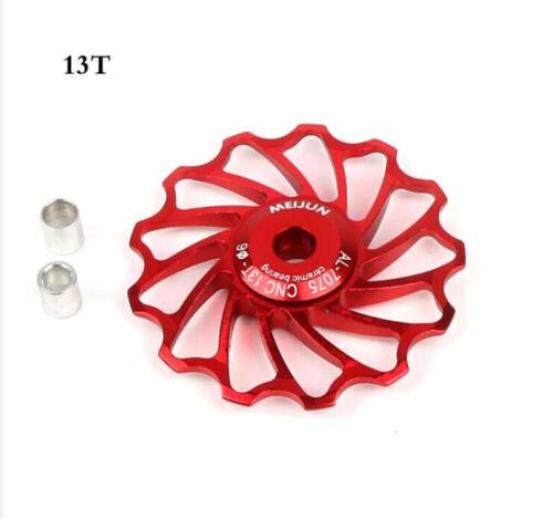 MTB//Fahrrad Schaltwerkrollen 13 Zähne gedichtete Industrielager Tuning