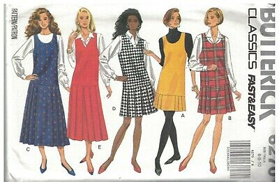 8403 UNCUT McCalls Sewing Pattern Misses Sew News Semi Fitted Jumper Easy Casual