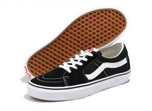 Vans Shoes SK8-Low Black True White USA SIZE Skateboard Sneakers