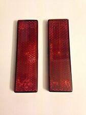 LAND Rover Defender 90 110 130 Riflettore posteriore rosso bastone su xff100071 x 2