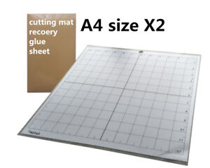 12 Inch Sticky Mat Adhesive Cutting Mat Glue Sheets Cricut