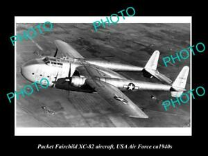 OLD 8x6 HISTORIC AVIATION PHOTO PACKET FAIRCHILD XC-82 AIRCRAFT USAAF c1940