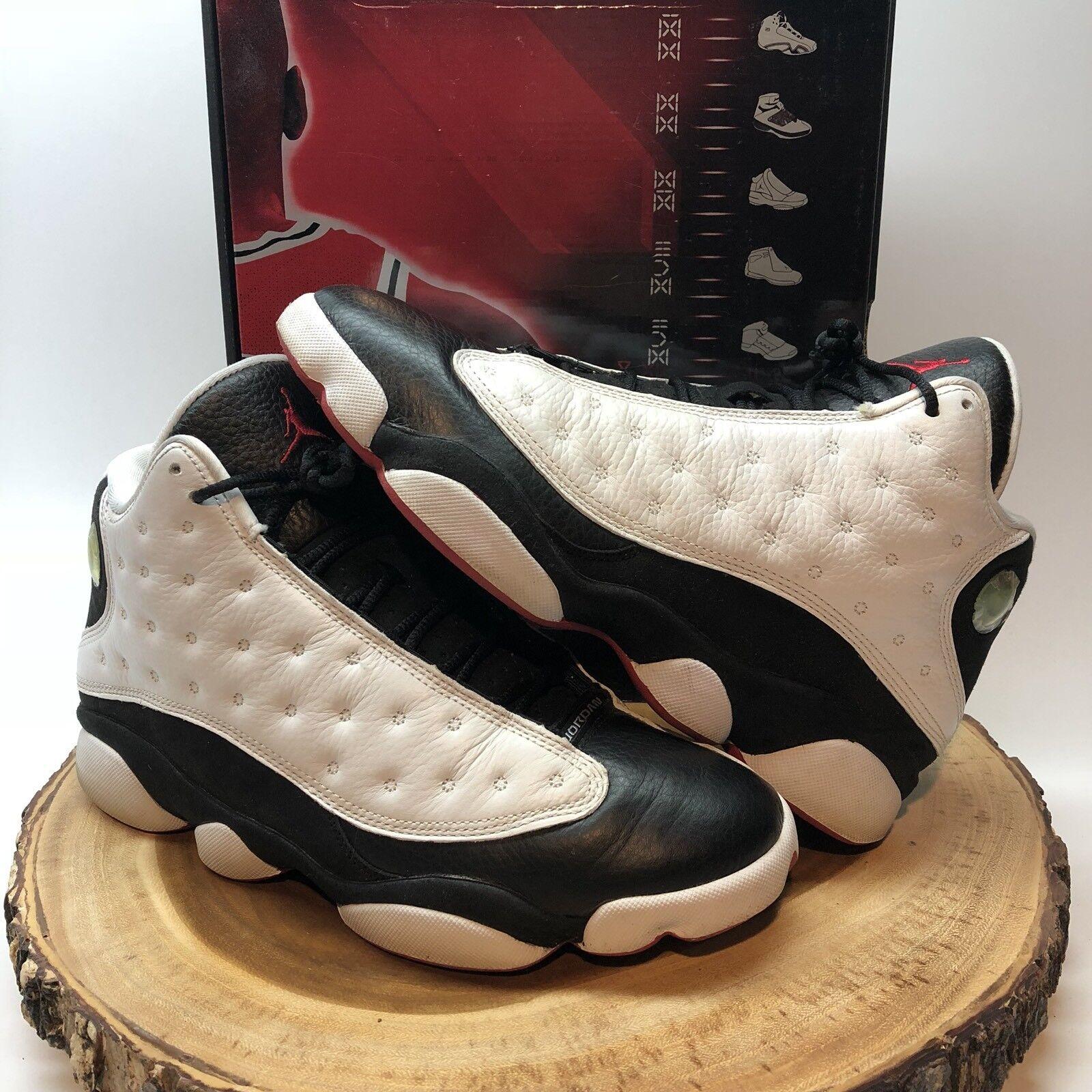 outlet store 0c509 6dd19 Nike Air XIII Jordan Retro XIII Air tiene juego CDP negro blanco rojo  comodo precio de temporada corta, beneficios de descuentos 53e80f