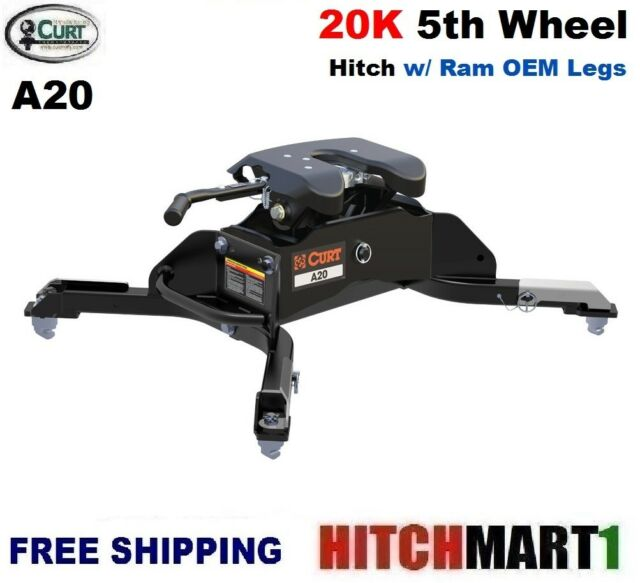 Curt Fifth Wheel Hitch >> Curt 16044 A20 Fifth Wheel Hitch