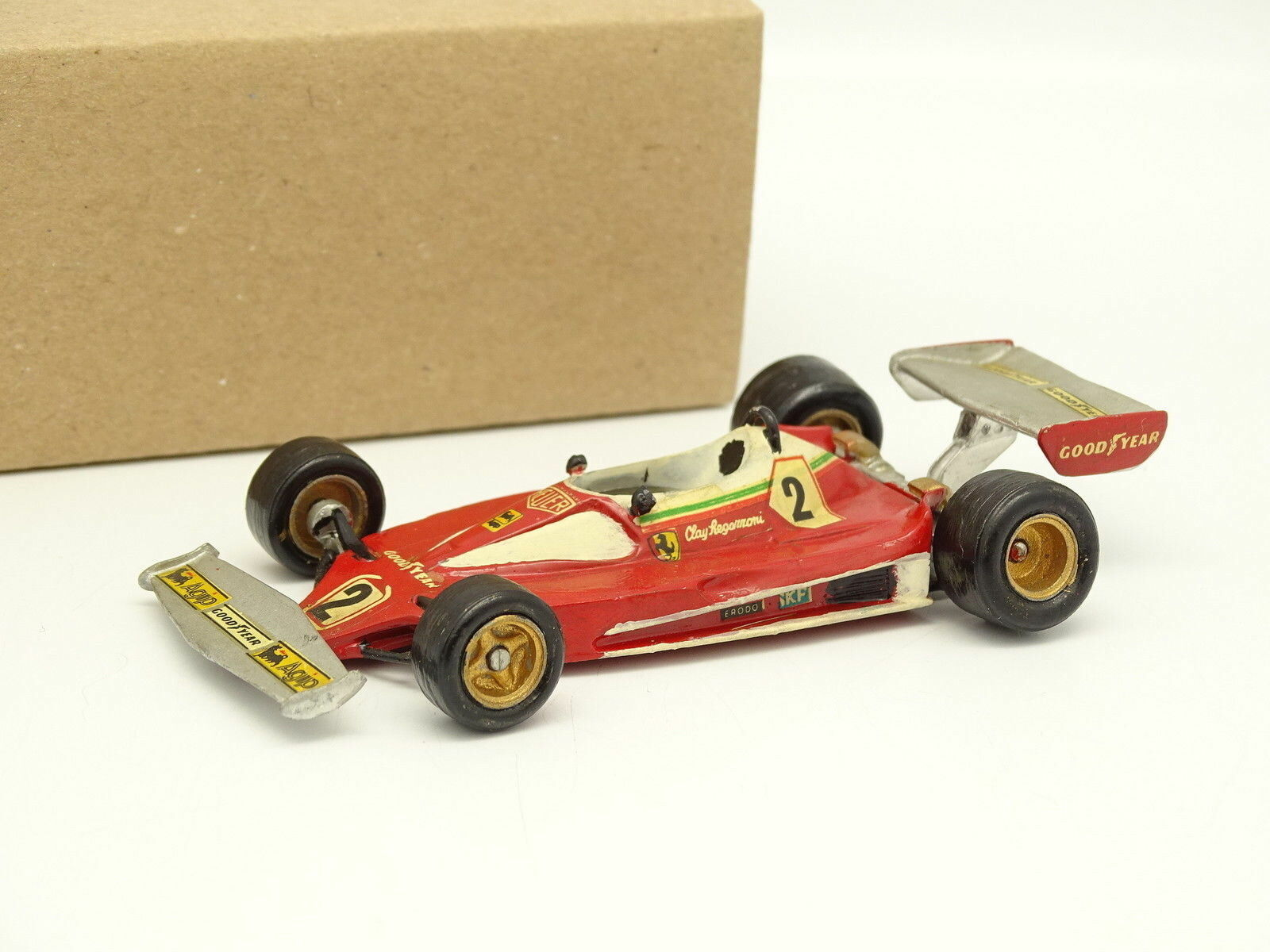 FDS Kit Métal Monté 1 43 - F1 Ferrari 312 T2 GP DE BELGIQUE 1976 C. REGAZZONI