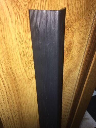 """Corner Wall Guard Protector  42/""""L x 1-5//8/""""W 0.150 Thickness Black Textured.1Pc"""