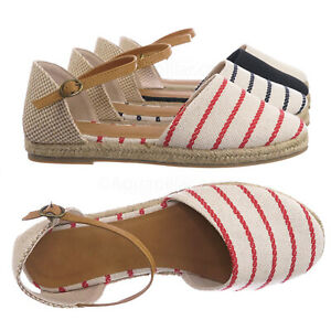 Phuket17-Espadrille-Round-Toe-Flat-Sandal-Linen-dOrsay-Cutout-Flatform-Shoes
