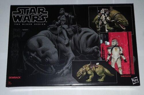 """doppia 6/"""" giocattolo STAR Wars Nero Serie dewback Action Figure #04 in magazzino"""