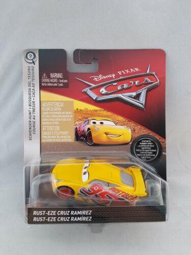 Disney Cars Scavenger Hunt Rust-Eze Cruz Ramirez Diecast New Pixar
