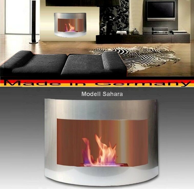 Caminetto Sahara-plata per Gel o Etanolo   Fatto in Germania   fireplace kamin