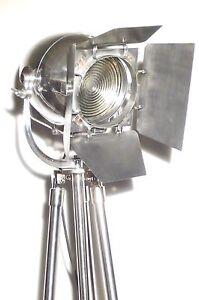 VINTAGE-THEATRE-LIGHT-ART-DECO-FILM-INDUSTRIAL-FLOOR-LAMP-ANTIQUE-STRAND-CINEMA