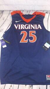 NWT Nike Virginia Cavaliers #25 NCAA Basketball Jersey Men's Size M