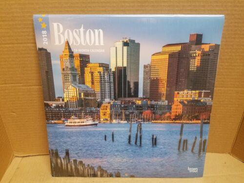 2018 Boston Wall Calendar