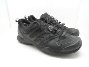 adidas-Men-039-s-TERREX-SWIFT-R2-GORE-TEX-HIKING-SHOES-Black-Size-11M