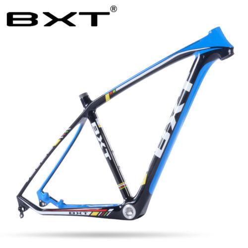 29er framest Carbon Mountain Bike Frame MTB Vélo axe traversant 142 mm cadre