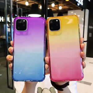 Case-For-iPhone-11-Pro-Max-Cover-Silicone-Clear-Gel-Shockproof-Protect-AL