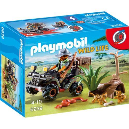 Abenteuer PLAYMOBIL® Wild Life 6939 Wilderer mit Quad Afrika Dschungel NEU/OVP!